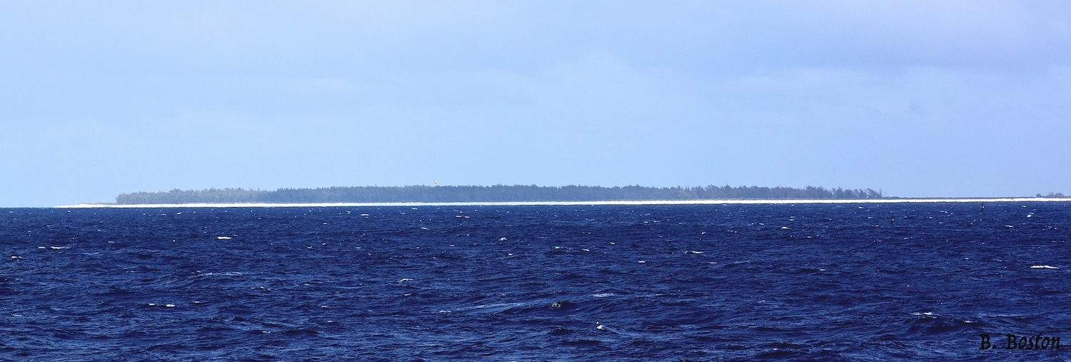 Sailing by Midway Atoll